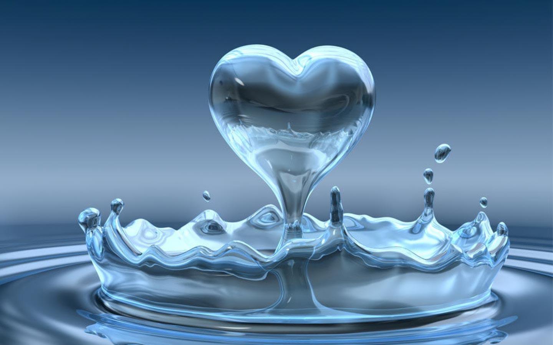 Love Splash Background Wallpaper 1024x640 Love Symbol