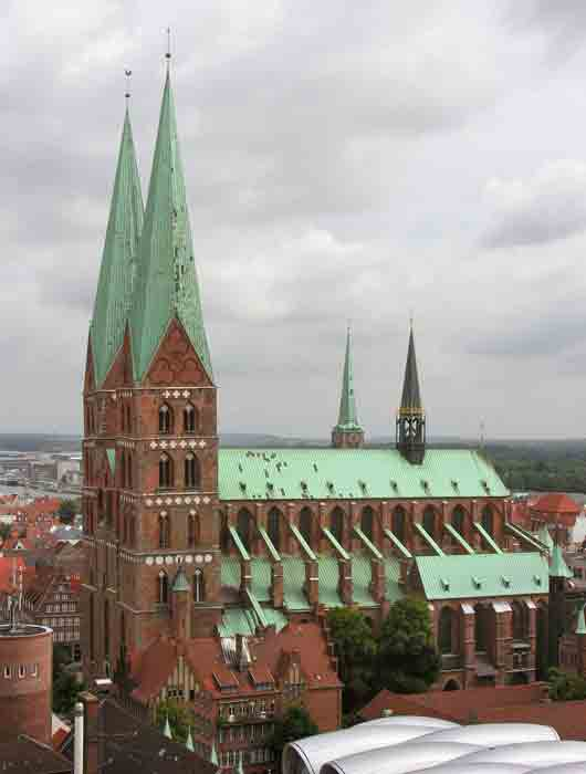 St. Marys church Stralsund New World tallest Churches