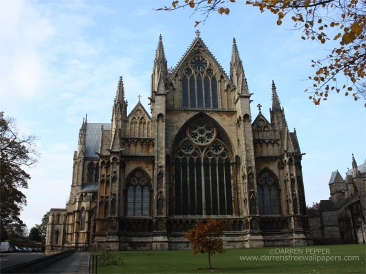 World_Largest_Church_Lincoln Cathedral_east_face