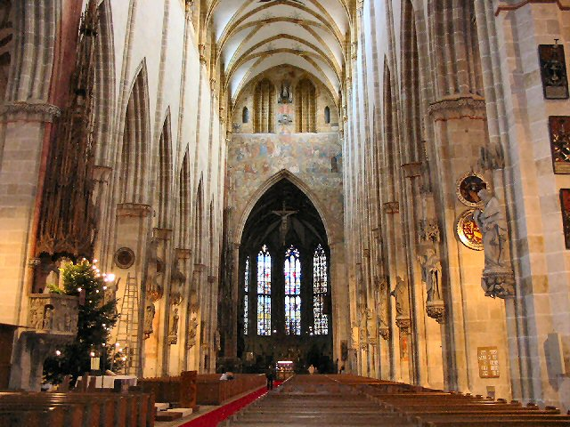 inside world tallest church UlmMinster Germany World tallest Churches
