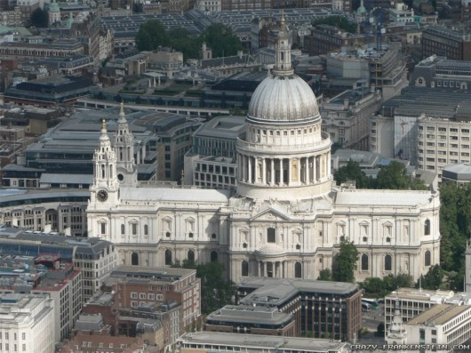 st pauls cathedral london city London 530x397 World tallest Churches