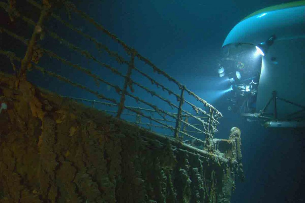 titanicindeepwaternew 1024x682 Titanic Underwater