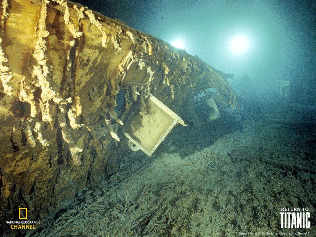 Titanic  Underwater Pictures