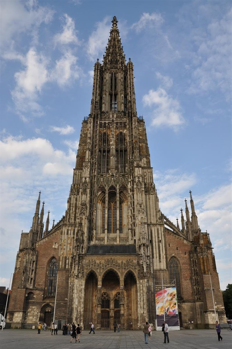 world tallest church UlmMinster Germany World tallest Churches