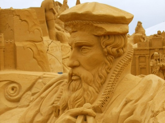 Amazing sand  sculptures 530x397 Amazing sand sculptures