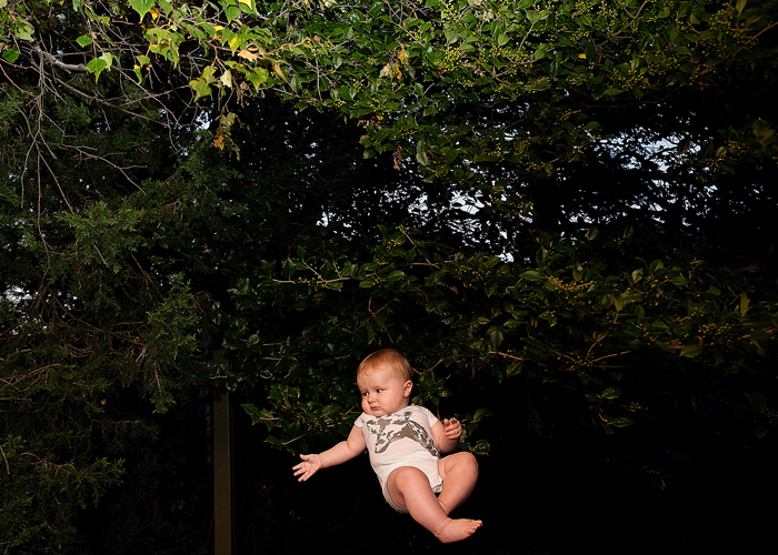 Babies Flying Photography