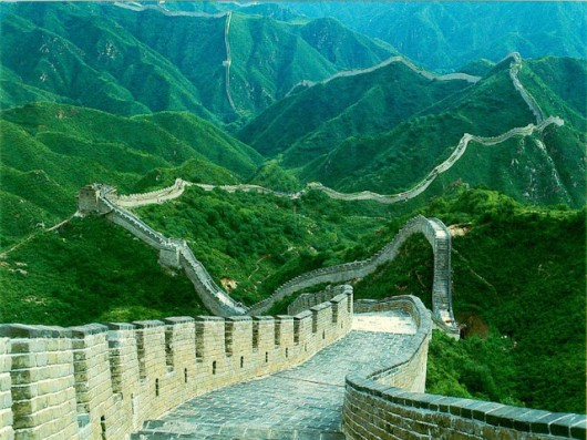 Great Wall of China 01 530x397 Great China wall Pictures