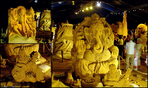 Indian Best sand sculpture