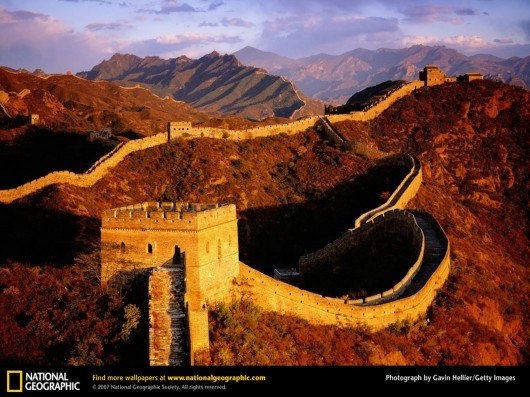 image of great wall of china 530x397 Great China wall Pictures