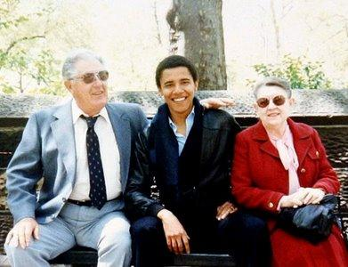 obama grand mother father Obama Childhood Photos
