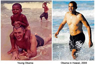 Obama Enjoyed Holiday