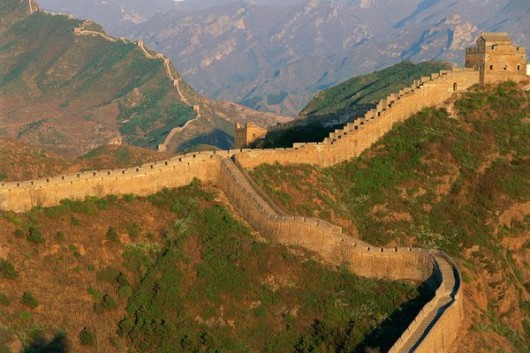 wonders great wall china 530x353 Great China wall Pictures