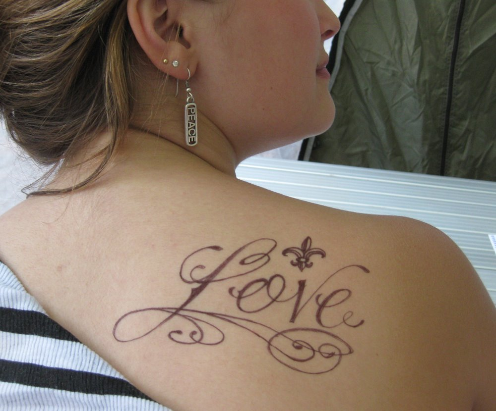 Shoulder Tattoo Design for Girls Friendship Tattoos