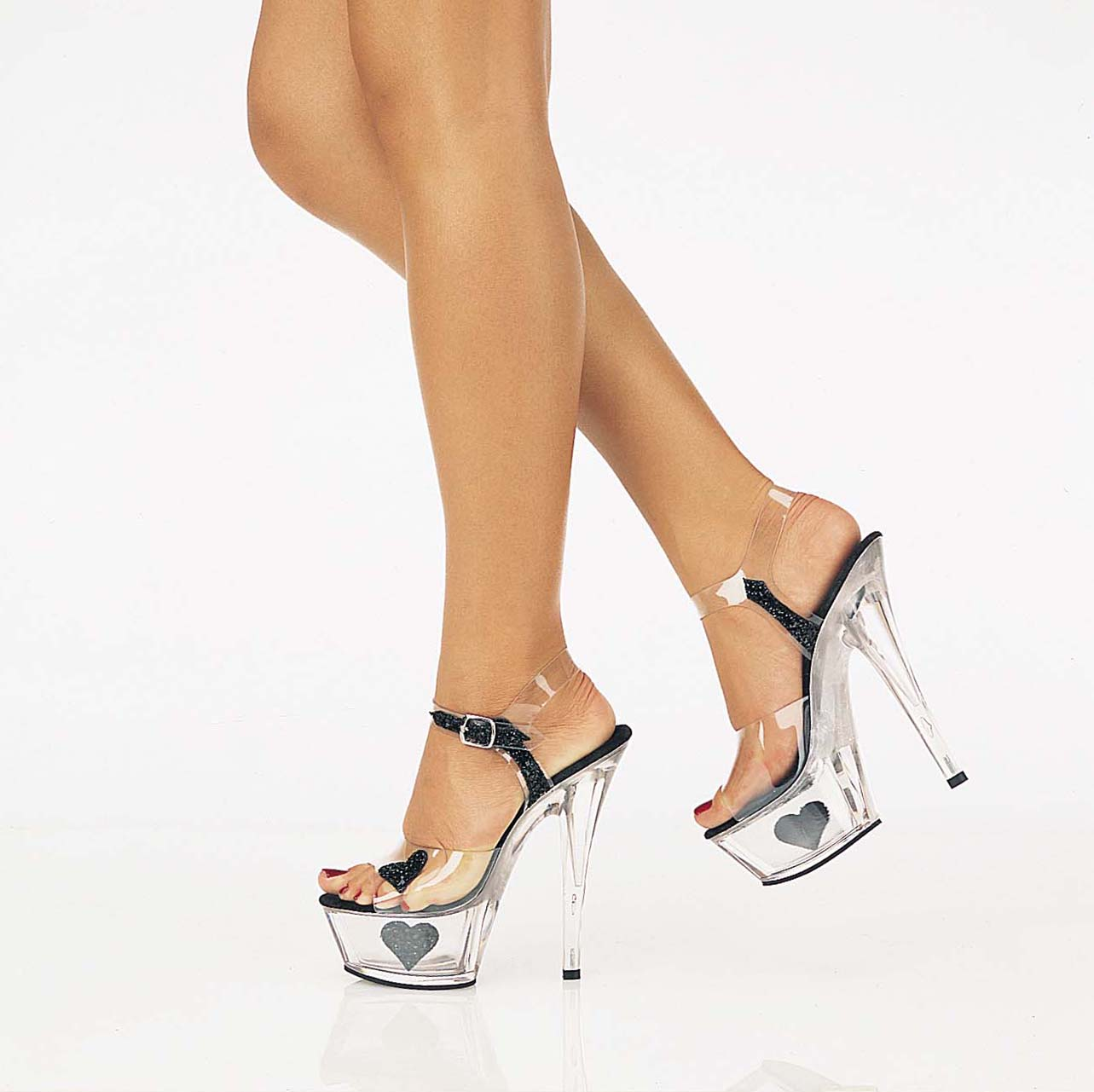 glass slipper High Heel Shoes For Fashion Shoes In Girls