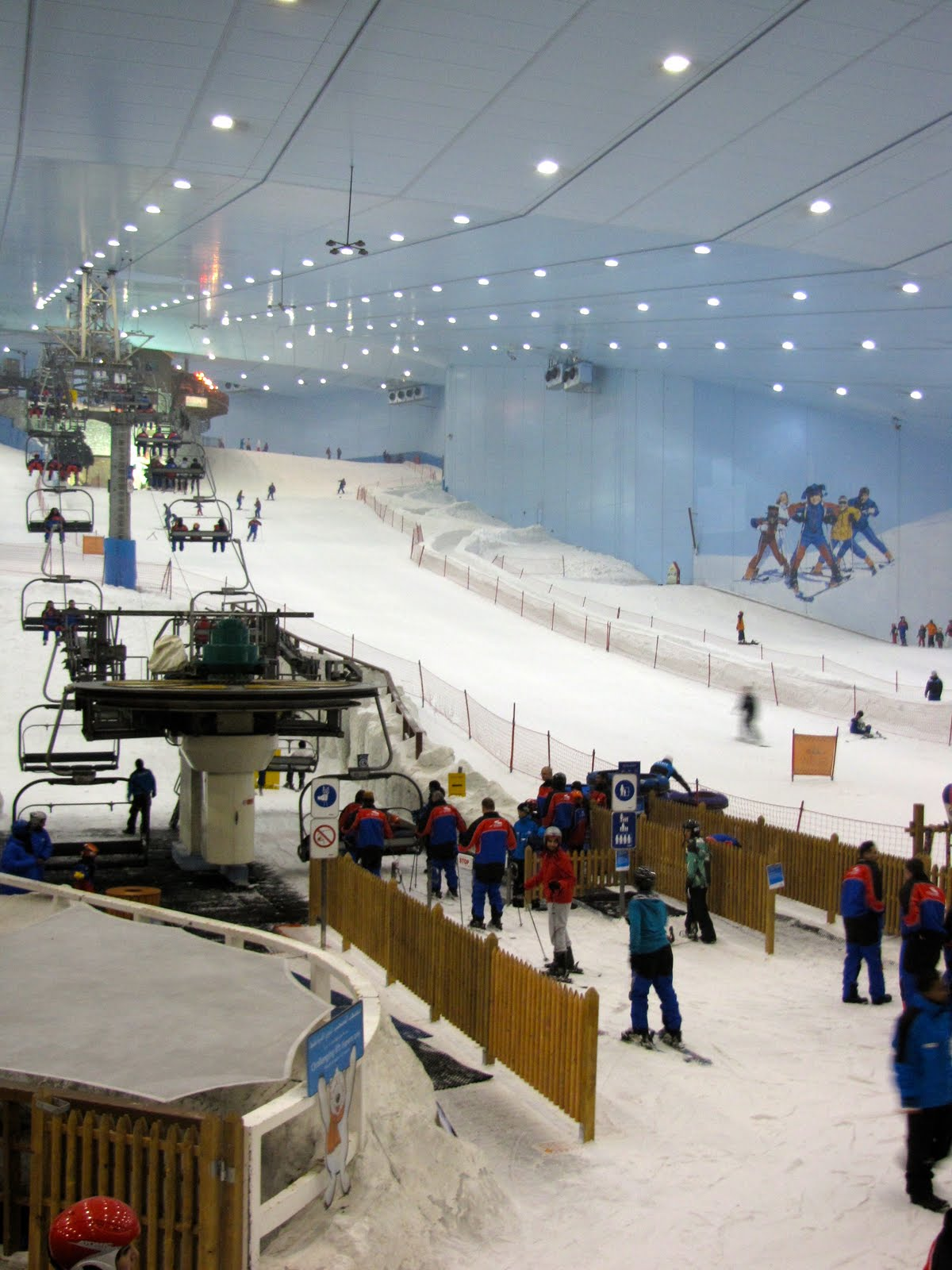 ski dubai snow park Dubai Tourism 