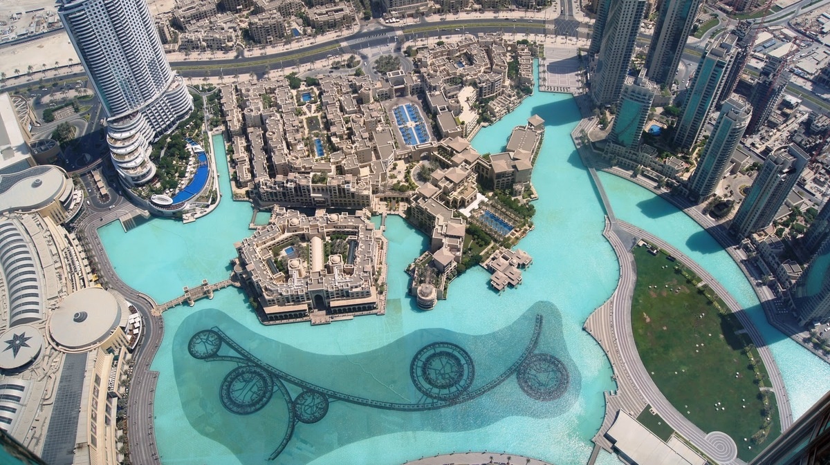 tallest building of world Top View Dubai Tourism 