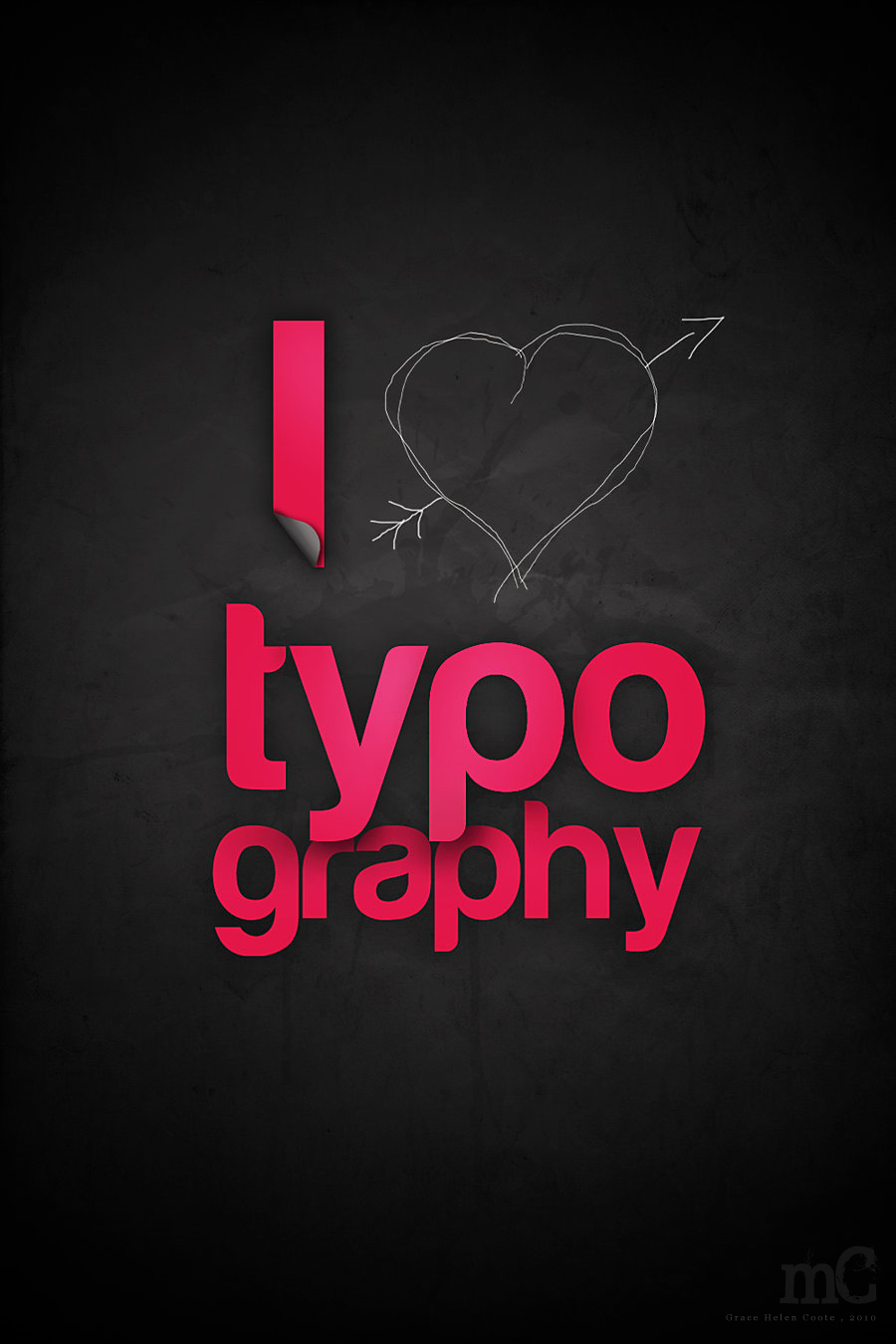 Cute Typography Art 13 Cute Typography