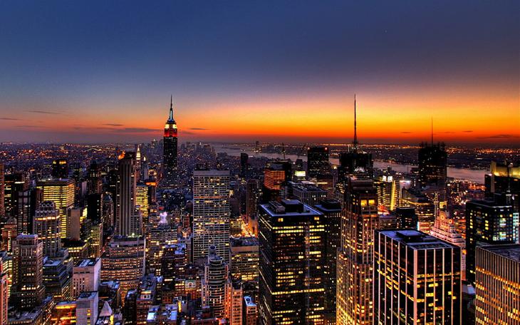 new york skyline view - photo #32