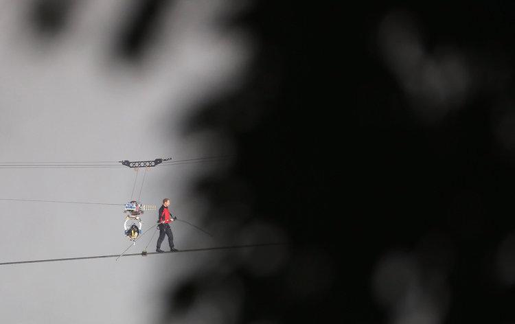 Tightrope-hero