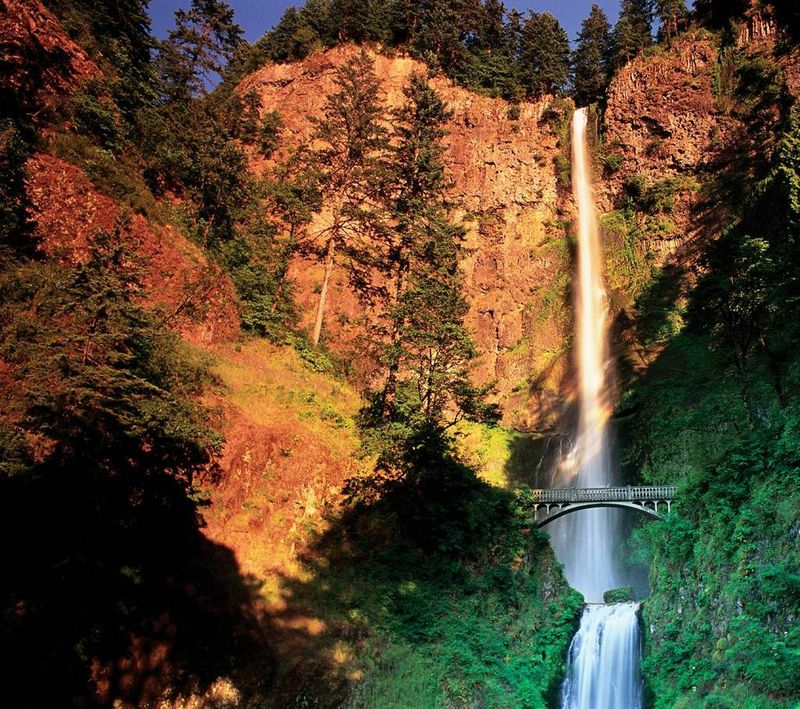 falls oregon Multnomah Falls