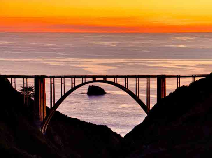 Bixby Bridge Pictures California 03 California  Attractions