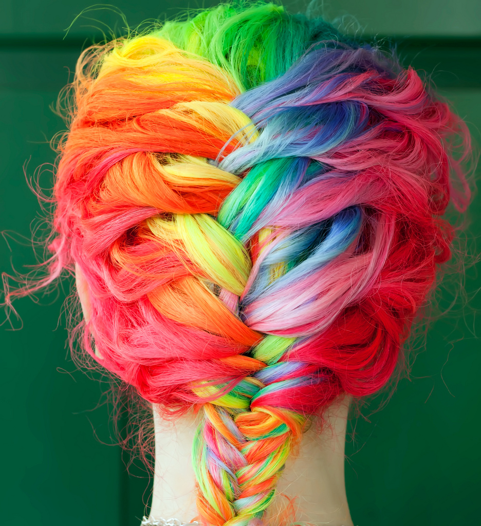 Color Hair beautiful colors