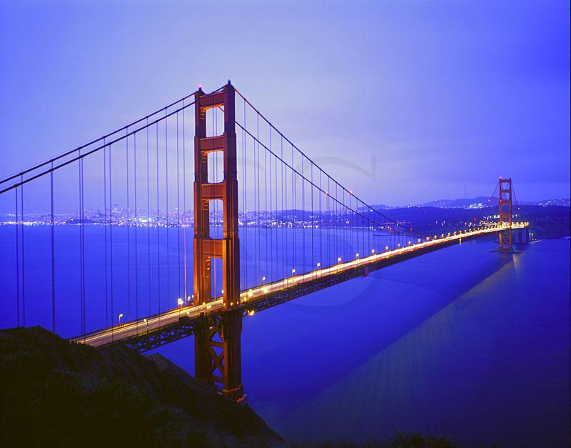 Golden Gate Bridge San Francisco California California  Attractions