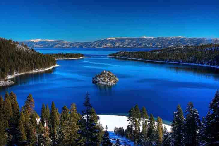 Lake Tahoe Pictures In Summer 05 California  Attractions