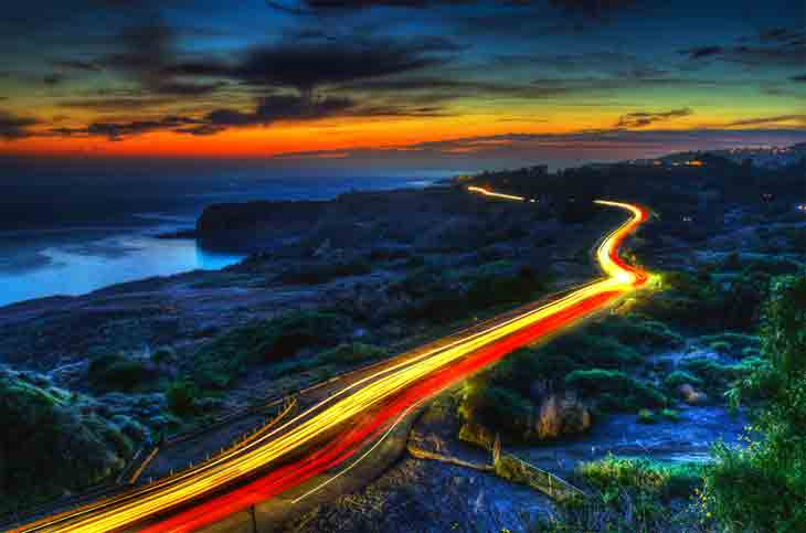 Portuguese Bend California California  Attractions
