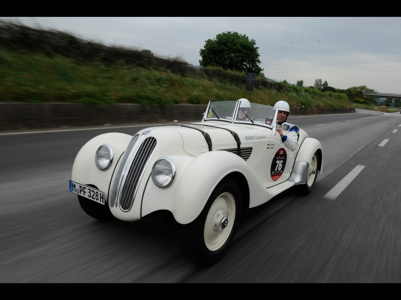 1937 1939 BMW 328 2009 Mille Miglia White 15 Most Beautiful BMW Cars