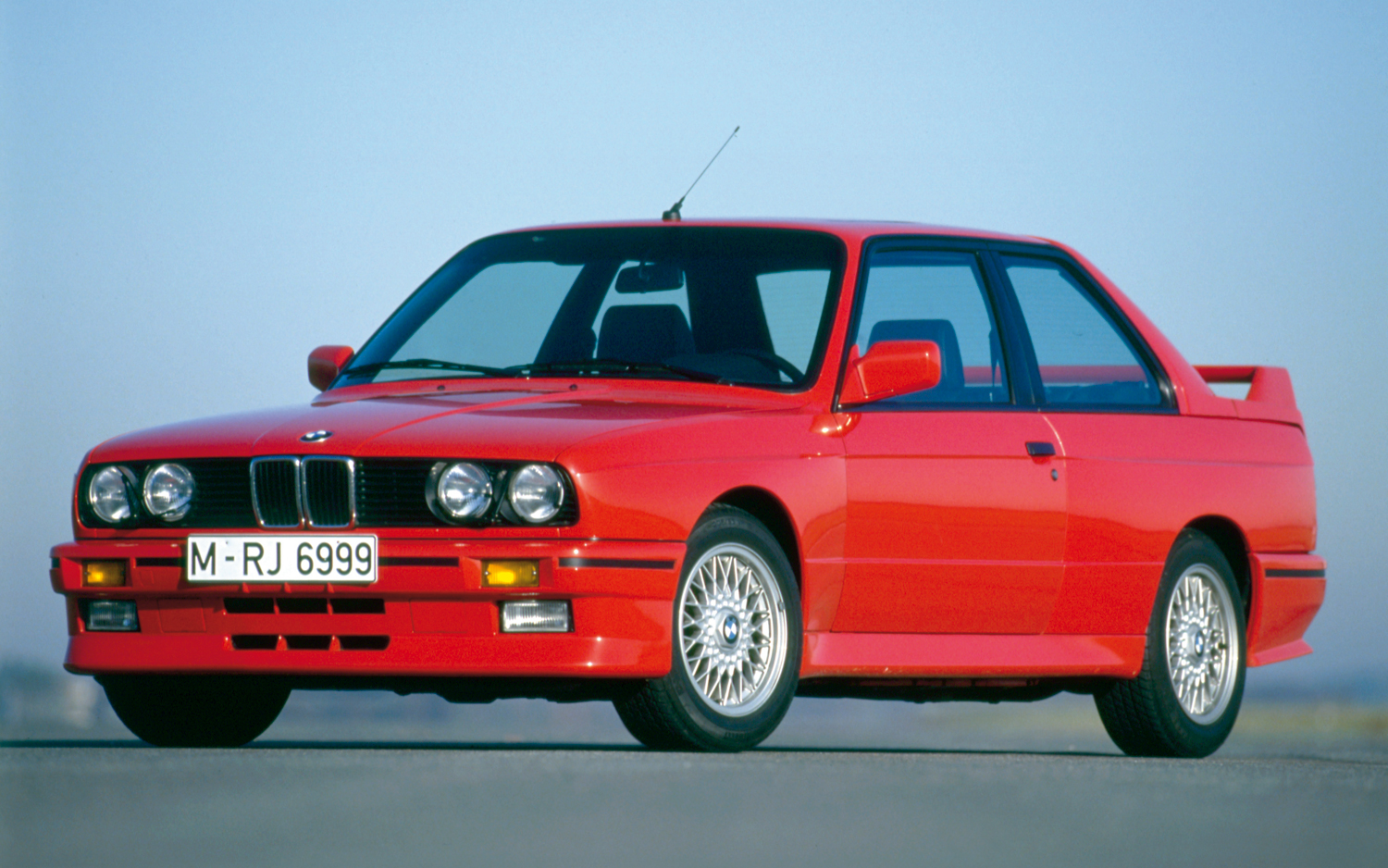 1985 BMW M3 E30 front three quarter 15 Most Beautiful BMW Cars